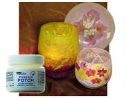 Прозрачный клей для декупажа по фарфору,стеклу,керамике(обжиг 130*С) на водной основе Hobby Line 150мл