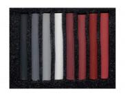 """Набор цветной пастели  """"Акваколор"""" в картон.упак.8цв №13 (серо-коричневые оттенки)"""