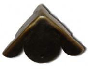 Уголок металлический фигурный 24х24мм MFС-073