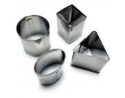 Набор каттеров металлических №2 от 18 до 25мм (4шт.)