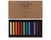 Набор цветной пастели Кокос 12цв  /183141