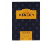 RR Альбом-склейка  для акварели 300г 100%хлопок Heritage Fin Canson, альбом форм.12л  26х36см