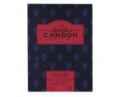 RR Альбом-склейка  для акварели 300г 100%хлопок Heritage Satin Canson, альбом форм.12л  23х31см