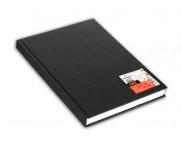 """RR Блокнот для набросков 100г целлюлоза черн.обложка книжн.форм.""""ONE"""" 100л 10,2x15,2см"""