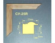 200х300 шир.20мм Рама из мягких пород древесины вставка ДВП Рельефная