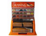 """Дисплей для карандашей """"Drawing"""" 1 ящ.(6) Х 12 ячеек (288 каранашей)"""