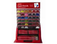 """Дисплей для карандашей """"Pastel Pencils""""  1ящ.(6) Х 36 ячеек (432 каранаша)"""