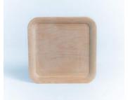 Блюдо для декора квадратное деревянное для декора (ольха)  240х240мм