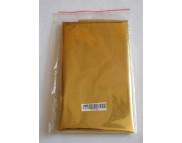 RR Фольга метал.на плёнке ЗОЛОТО (цвет потали) S=0,25-0,5м2.в зип пакете