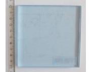 Акриловая пластина для работы с силикон.штампами и цернитом  100х100х8мм