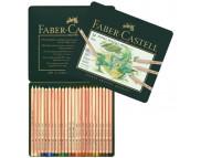 """*Набор пастельных каранд.""""Faber-Castell"""" в мет.короб. 24цв /112124"""