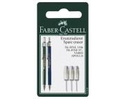 Набор сменных ластиков Faber-Castell для механич.карандаша TK-FINE 3шт. в блистере /131594