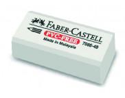 Ластик виниловый эконом. 7086-48 Faber-Castell БЕЛЫЙ /188648