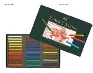 Набор цветной пастели мягк.квадр 35мм Faber-Castell в картон.упак 72цв /128272