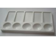 Палитра пластиков.прямоугольн. №2  11х20см