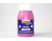 "R Краска по тканям и коже прочная нерастекающаяся ""Opak"" Javana 500мл МАДЖЕНТА"