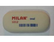 """Ластик""""Milan""""овальный 1012(каучук для В-8В)  62х28х12.5мм"""