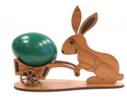 "Подставка ""Кролик"" для яйца (фанера 4мм) 130х65х100мм"