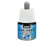 *Жидкая акварель (концентрат) COLOREX 45мл СИНИЙ СВЕТЛЫЙ
