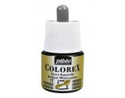 *Жидкая акварель (концентрат) COLOREX 45мл ЗЕЛЕНЫЙ ЗОЛОТИСТЫЙ