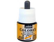 *Жидкая акварель (концентрат) COLOREX 45мл ОХРА ЖЕЛТАЯ