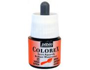 *Жидкая акварель (концентрат) COLOREX 45мл ШАФРАНОВЫЙ