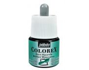 *Жидкая акварель (концентрат) COLOREX 45мл ИЗУМРУДНЫЙ