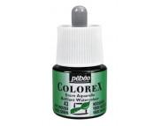 *Жидкая акварель (концентрат) COLOREX 45мл ЗЕЛЕНЫЙ МОХ