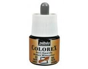 *Жидкая акварель (концентрат) COLOREX 45мл ПАЛЕВЫЙ