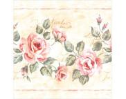 """R РАЗБИРАТЬ 27.6 Салфетка 33х33см (20шт) """"Грациозные розы"""""""