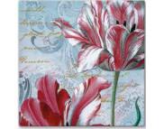 """R РАЗБИРАТЬ 27.9 Салфетка 33х33см (20шт) """"Грациозные тюльпаны"""""""