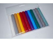 Набор полимерного моделина(пластики) 12цв 204гр ГЛИТТЕР