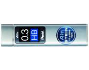 Набор стержн.для мех.карандашей (15шт.) Pentel Ain Stein  HB  0,3мм