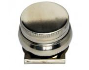 Масленка метал.одинарная с крышкой d42мм /11006