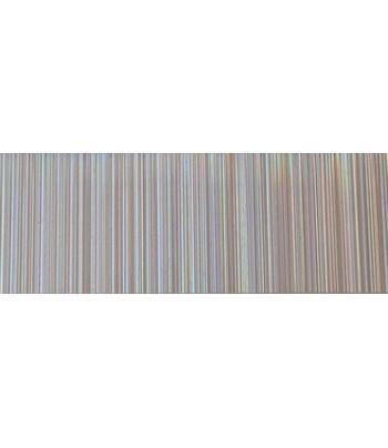 RR Декоративная пленка для аппликаций на текстиле 9х23см голографич.полоски СЕРЕБРО