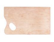 Палитра деревян.прямоугольн. №1 36х21,5см