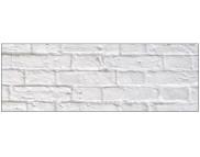 R п Картон дизайнерский цветной 300г 49,5х68см КИРПИЧИКИ БЕЛЫЕ