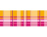 "R п Картон дизайнерский двусторонний  ""Vichy"" 300г 49,5x68см  мотив КЛЕТКА КРАСНЫЙ"