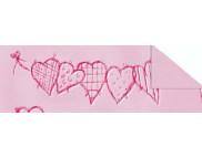 """R п Картон дизайнерский цветной """"Биение сердца"""" 220г 49,5x68см ВОЗЛЮБЛЕННАЯ"""