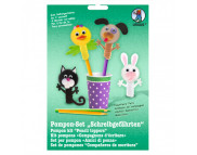 Набор для изготовления мягк пальчиковых игрушек (4шт.) ЖИВОТНЫЕ