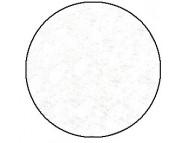 R Фетр поделочный (вискоза) 150г. 20x30см, h 2мм  10 листов БЕЛЫЙ