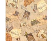 """Бумага для Scrapbooking """"Воспоминания"""" 120г 30,5х30,5см мотив36"""