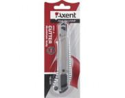 Нож трафаретный AXENT 18мм с фиксаторм /6902-А