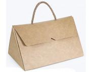 """Бельё картонное: Коробка """"Сумочка"""" № М0005-о9  175х125х98мм КРАФТ"""