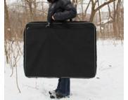 """Папка-сумка для планшетов """"Евро"""" ткань/картон/карм.для кистей(70х90х7см) А1"""