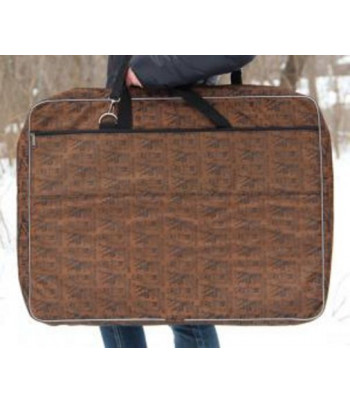 "Папка-сумка для планшетов ""Евро"" ткань/картон/карм.для кистей(46х73х5см) А2 ЦВЕТНАЯ"