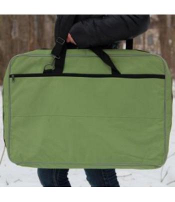 """Папка-сумка для планшетов """"Классика""""/ткань/ картон А2 ЦВЕТНАЯ"""