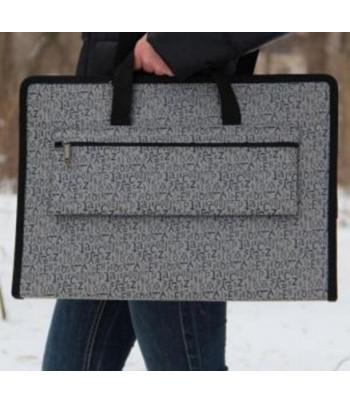 """Папка-сумка для планшетов """"Классика""""/ткань/ картон А3 ЦВЕТНАЯ"""