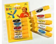 """Набор худож.красок для лица и тела """"Попугай-ка"""" в карандашах (5цвх8гр) картон в блистере"""