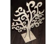 """Декоративная подставка для бижутерии (фанера) """"Дерево"""" 330х400мм"""